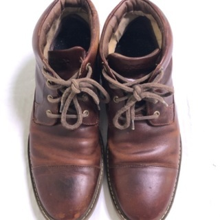 スペリー トップサイダー チャッカブーツ メンズ 革靴 27cm