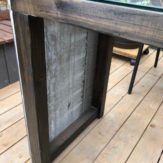 DIYテーブル2個ウッドデッキなどに合う - 家具