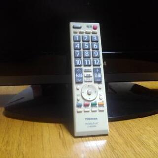 東芝22V液晶テレビREGZA22A9500 - 家電