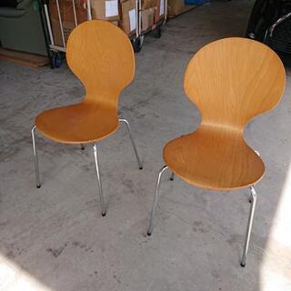 椅子2脚 アントチェアタイプ