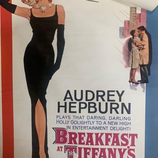 イタリアで買ったポスターとオードリヘップバーンのポスター
