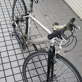 【値下げしました!】ジャンク クロスバイク 3800円→2…