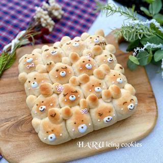 cottaのテレビCMの『くまさんちぎりパン』が作れるレッスン・おうちパン講座の画像