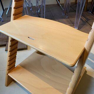 ストッケ STOKKE トリップトラップ TRIPP TRAPP チェア 椅子 木製 茶 中古品 − 栃木県