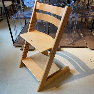 ストッケ STOKKE トリップトラップ TRIPP TRAPP チェア 椅子 木製 茶 中古品 - 宇都宮市