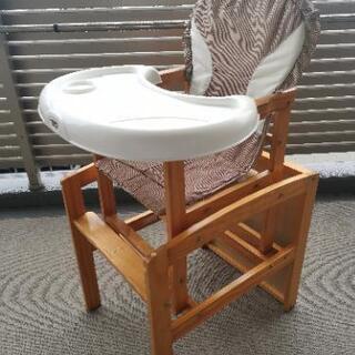 木製 キズ用テーブル椅子セット