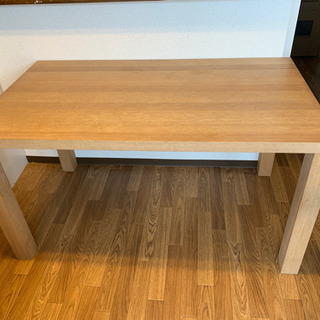 ダイニングテーブル(更に値段下げました。引き取り日変更あり) - 家具