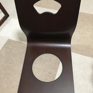 【ネット決済】ニトリ 座椅子※クッション付(ほぼ新品です。)