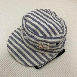 リバーシブル子供用帽子 サイズ52cm 美品(⑅•ᴗ•⑅)…
