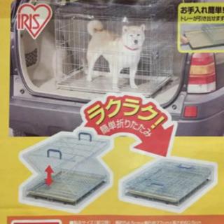 折りたたみゲージ 中型犬用の画像