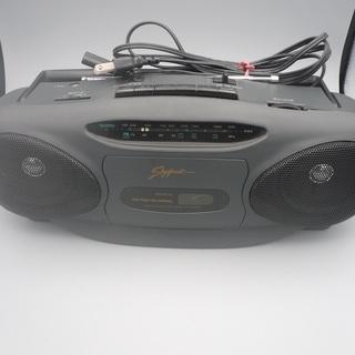 カセット テープレコーダー ラジオ ラジカセの画像