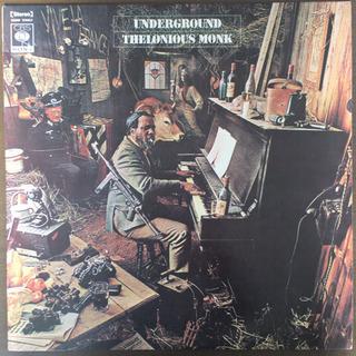 Thelonious Monk - Underground LP レコードの画像