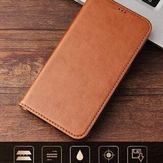 【新品】iPhone 11 スマホケース レザー調 手帳型 カード収納