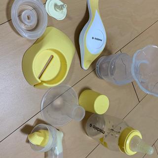 メデラ手動さく乳器&カネソンさく乳ポンプ