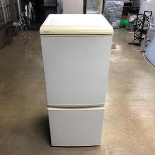 2007年製 シャープ ノンフロン冷凍冷蔵庫「SJ-614…