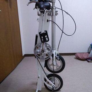 折り畳み自転車 Pacific cycles carryme 白