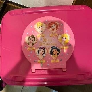 【無料】ディズニー プリンセス プラスチックケース譲ります - 世田谷区