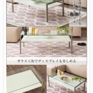 ●取引決定●ガラステーブル ニトリ 美品 − 東京都