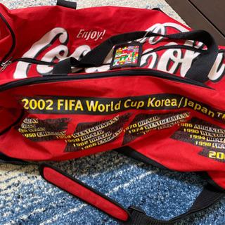 ☆中古☆ 2002年日韓W杯サッカースポーツバッグ