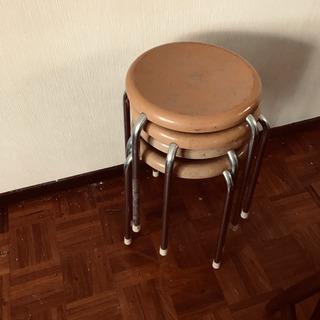 【ネット決済】丸椅子4脚