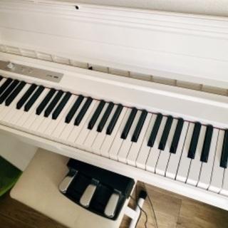 電子ピアノ LP-180 KORG 88鍵 ホワイト イス…