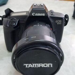 あげます。Canon EOS650  TAMRON 28-…