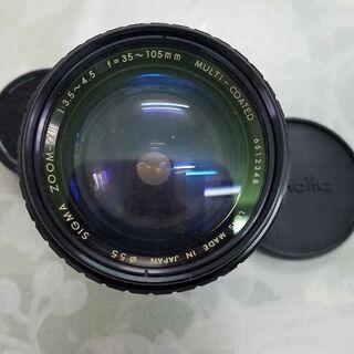 あげます。カメラレンズ SIGMA 35~105