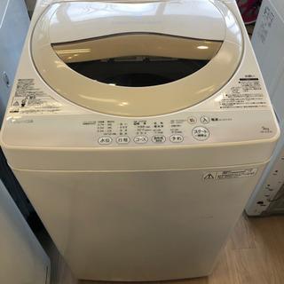 *【6ヶ月安心保証付】TOSHIBA 洗濯機 5.0kg