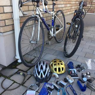 ロードバイク+マウンテンバイク+自転車関連グッズ