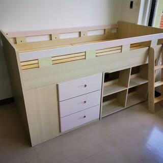 システムベッド 棚付き