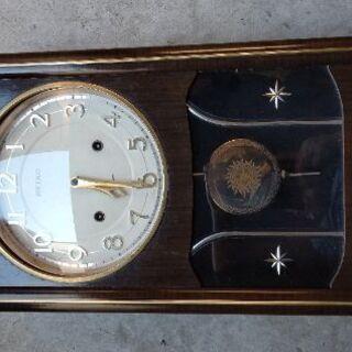 柱時計SEIKO昭和50年11月購入