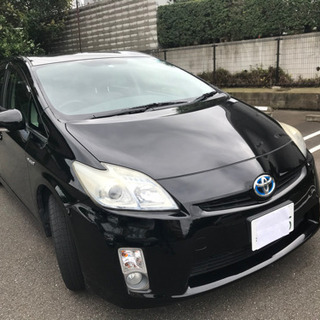 平成23年式!! トヨタ プリウス 黒 車検取り立て!!コ…