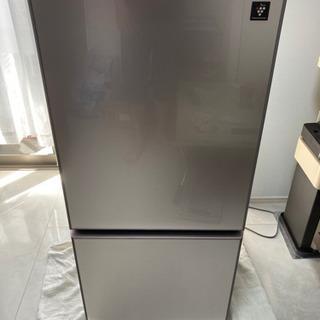【ネット決済】【美品】2018年製 SHARP 冷蔵庫 SJ-G...