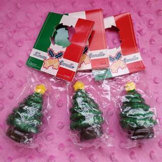 ★クリスマスツリー ロウソク 3個