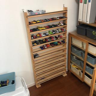 トミカ 収納ラック 棚 自作 DIY