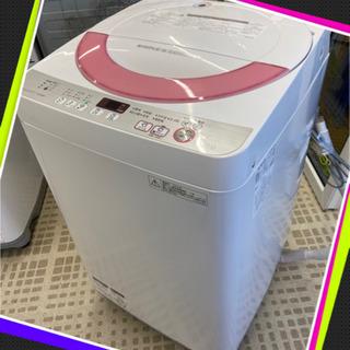🐳SHARP/シャープ 洗濯機 ES-GE60R 2016年製 ...