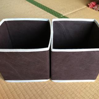 ボックス2個の画像