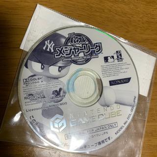 ゲームキューブソフト 実況パワフルメジャーリーグ