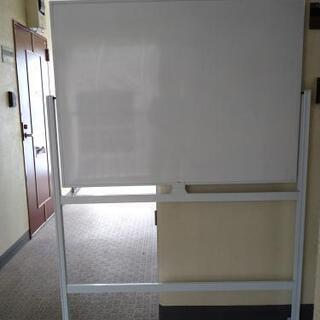 【中古】ホワイトボード120×90サイズ L字型・片面
