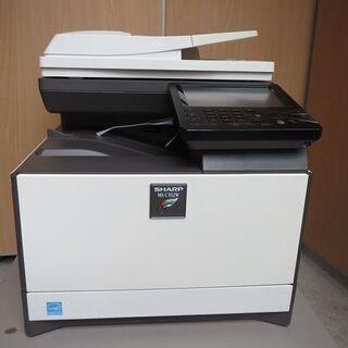 シャープ カラー複合機 MX-C302W使用枚数激少カラー48枚...