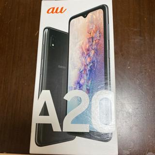 galaxyA20 ブラック 32GB au