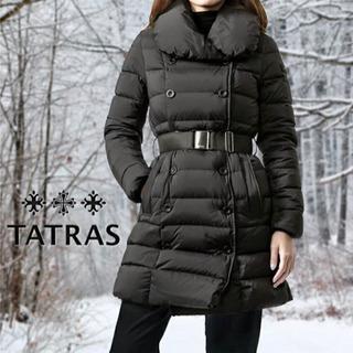 タトラスJAPAN 国内正規品⭐︎ダウンジャケット ブラック 01 S