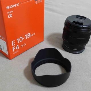【美品】SONY (ソニー) E 10-18mm F4 OSS ...