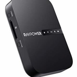 RAVPower Wi-Fi SDカードリーダー 【ワイヤレス共...