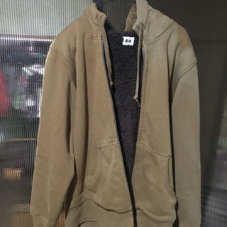 【ネット決済】Uniqlo パーカー 裏起毛ジャケット 美品