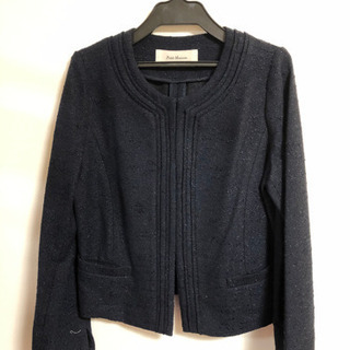 フォーマルジャケット 濃紺(ラメ入り)