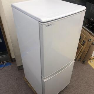 R57 C SHARP 2ドア冷蔵庫 SJ-14p-H 2…