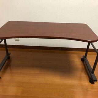 ベット テーブル 伸縮 伸張式 昇降 キャスター付き シンプルベ...