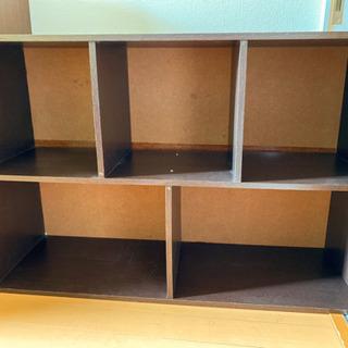 棚 カラーボックス ブラウン 本棚 収納家具 茶色