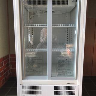 値下げしました。SANYOショーケース冷蔵庫 白